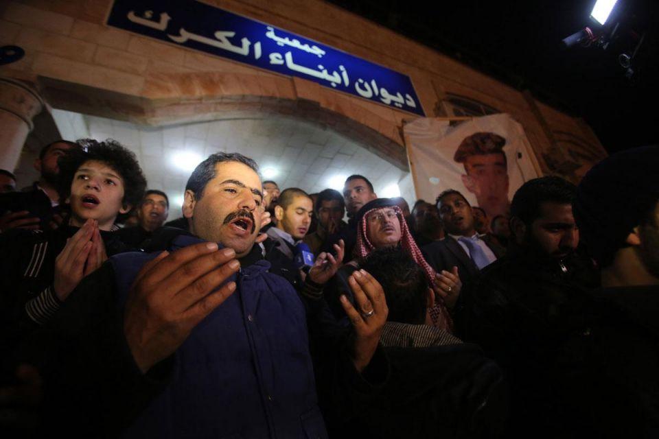 The world mourns Jordanian pilot