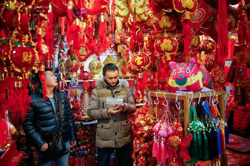Preparations for the 'New Year of the Goat'