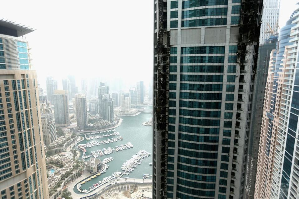 Dubai Police identify apartment where Torch tower fire started