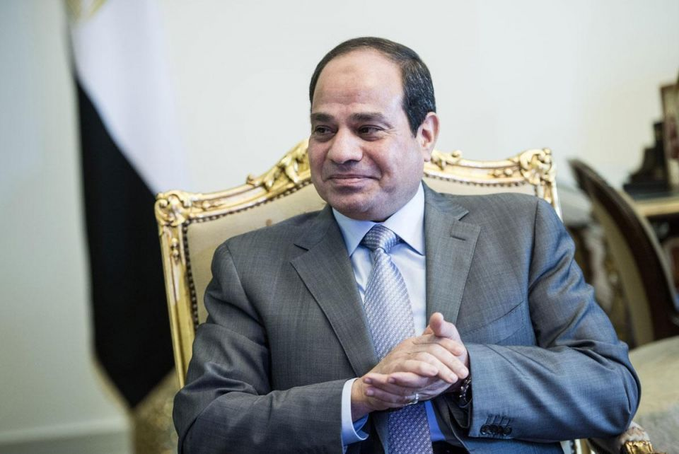 Egypt's Sisi calls for joint Arab military