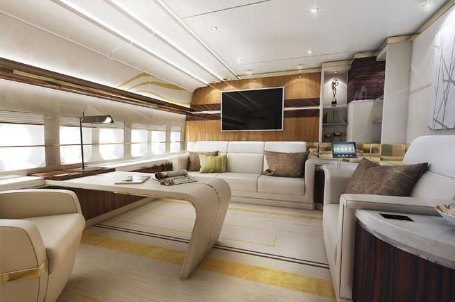 InPics: $600m Boeing 747-8 converted into the ultimate private jet