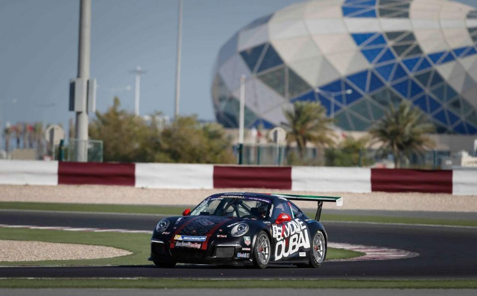 UAE dominates this year's Porsche GT3 Cup Challenge Middle East