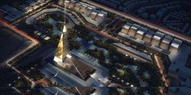 Egypt plans new pyramid skyscraper