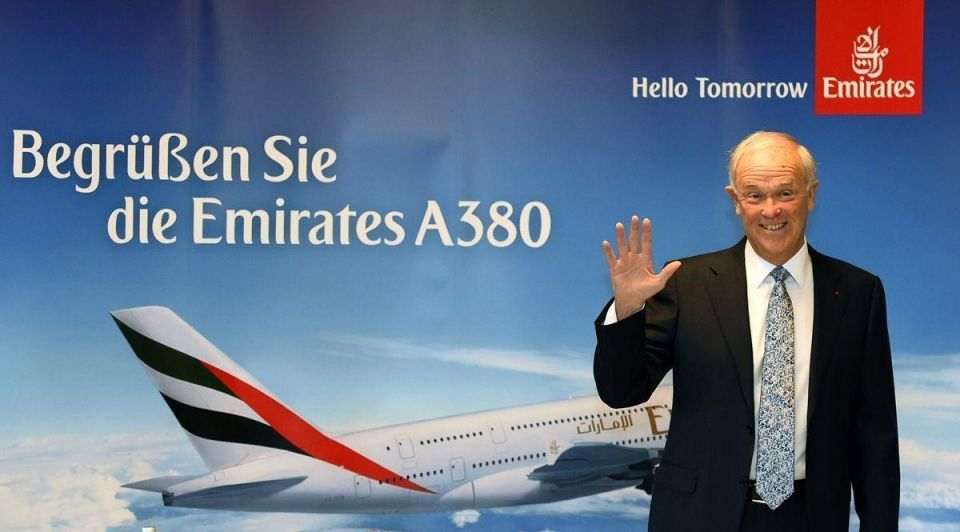 Emirates sees higher profits but cites lower oil industry demand