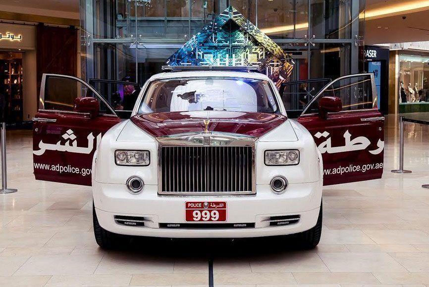 Abu Dhabi unveils Rolls Royce Phantom as part of its fleet