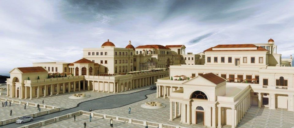 Doha to launch world's first air conditioned shopping strip