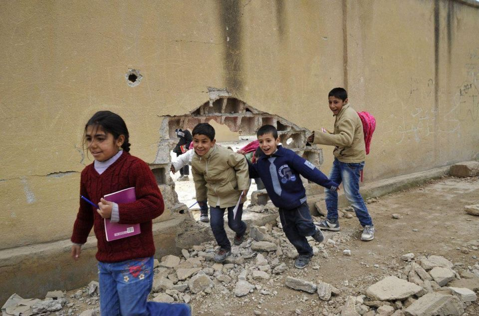 Kobane in Syria after ISIL
