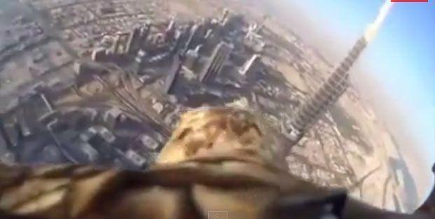 Eagle eye view of Dubai during record-breaking flight