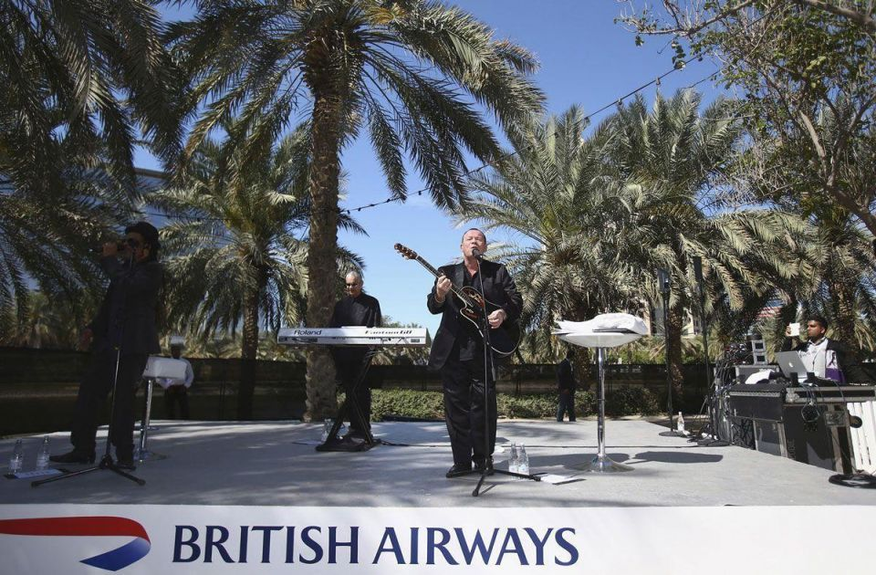 British Reggae band UB40 make surprise appearance at Taste of Dubai