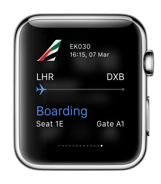 Emirates announces app launch for upcoming Apple Watch