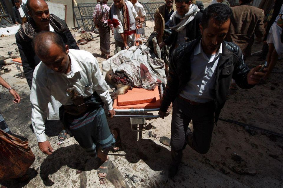 Bomb explosions at Yemeni mosques