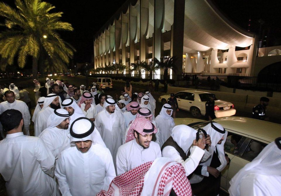 In pics: Protests in Kuwait