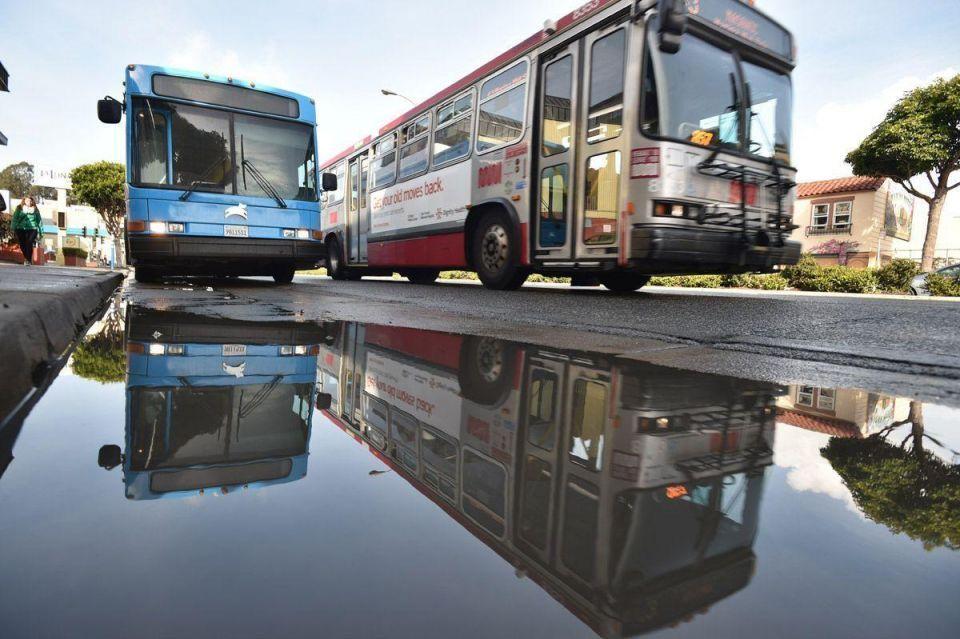 San Francisco's high-tech city bus