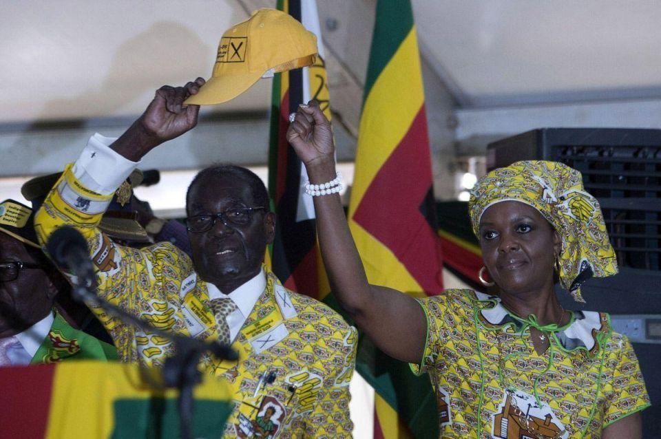 Mugabe's wife in Dubai for medical treatment