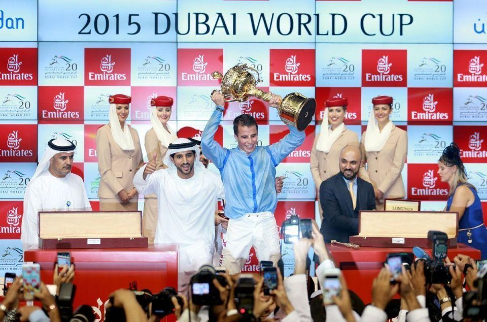 Dubai World Cup: Sheikh Hamdan's Prince Bishop wins $10m race