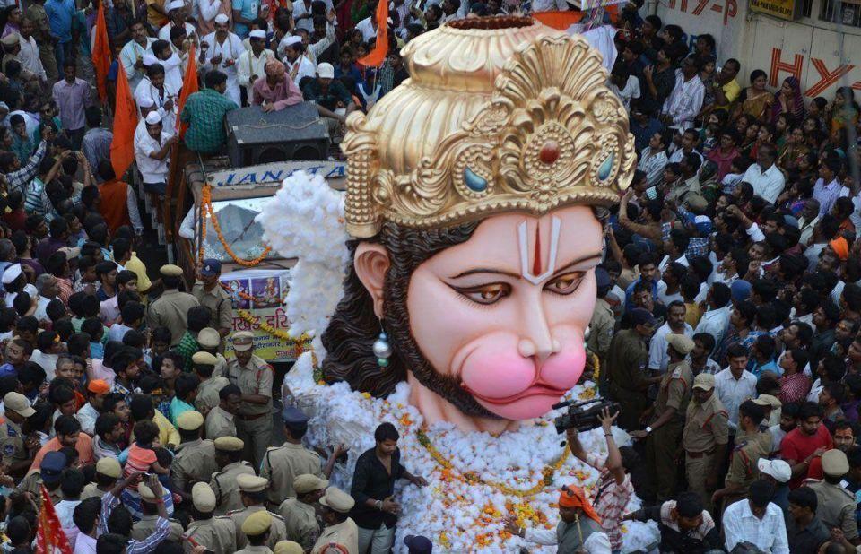 Hindus celebrate Ram Navami Festival