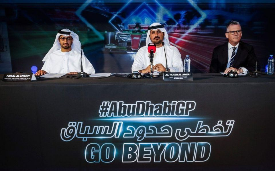 Tickets go on sale for Abu Dhabi F1 race