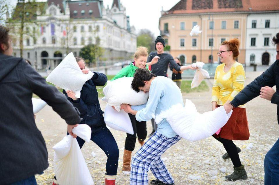 International Pillow Fight Day 2015