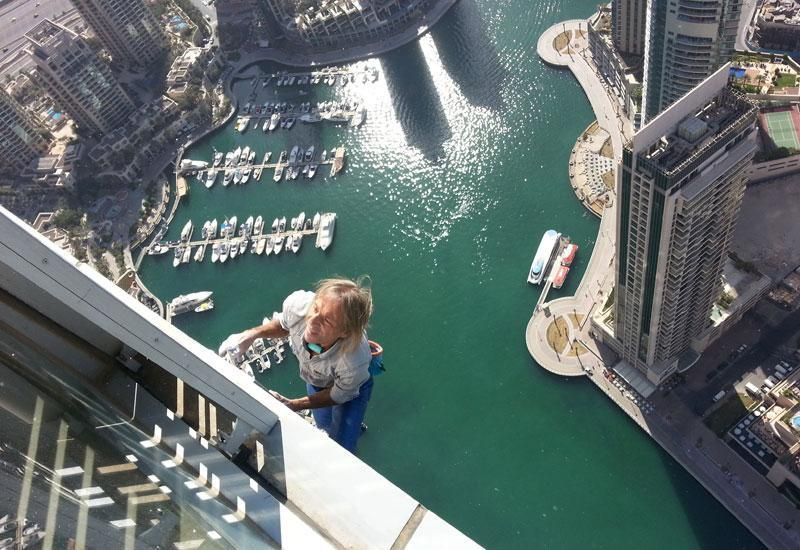 'Spiderman' to climb Cayan Tower in Dubai Marina