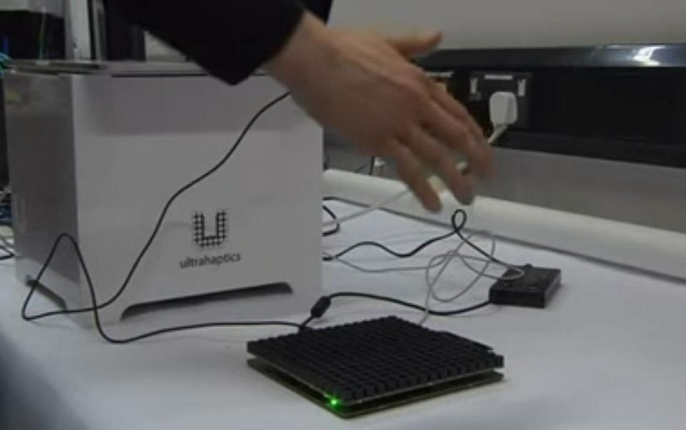 3D virtual objects that can be touched and felt