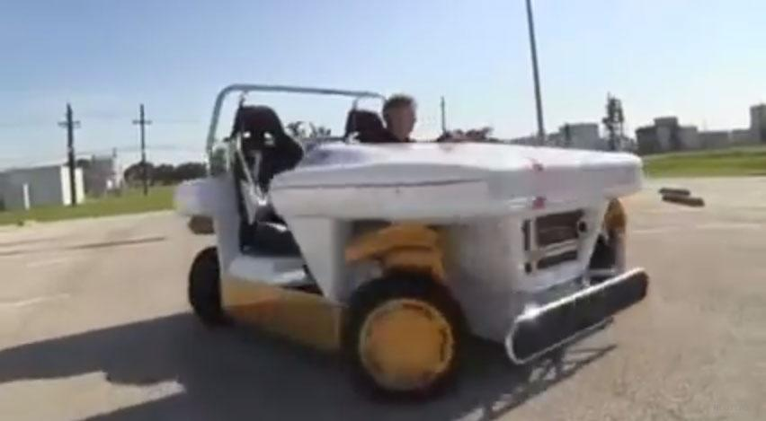 NASA electric rover goes for a spin