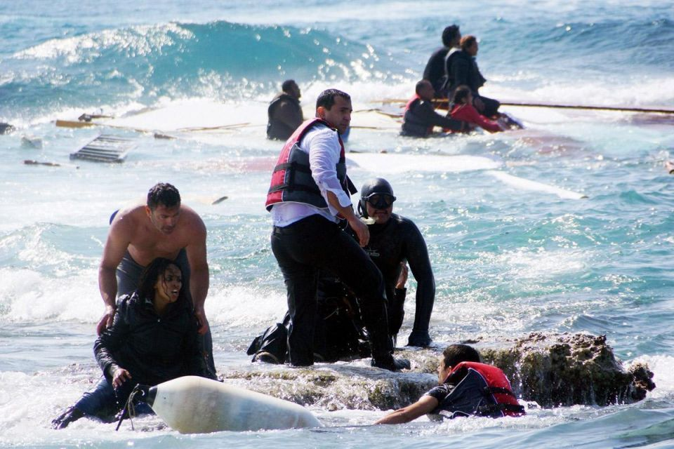 Mediterranean: EU vows to do more to help migrants fleeing to Europe as first bodies are brought ashore