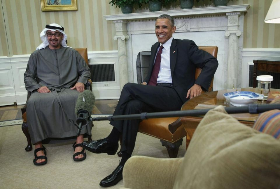 Obama, Abu Dhabi crown prince discuss need for military equipment