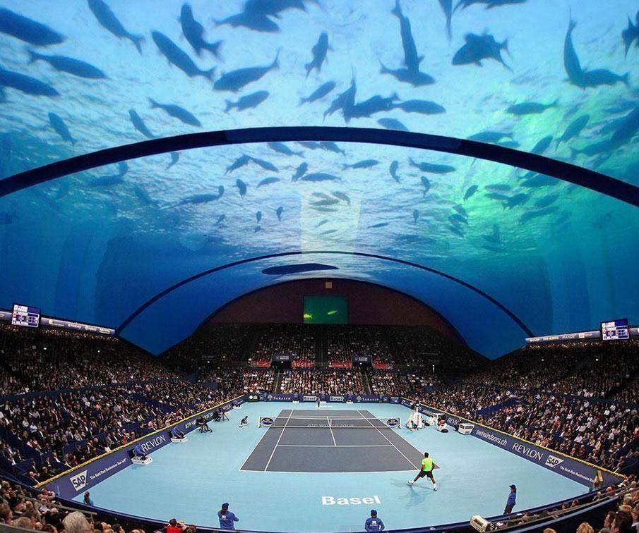 Dubai underwater tennis stadium eyes investors, final designs