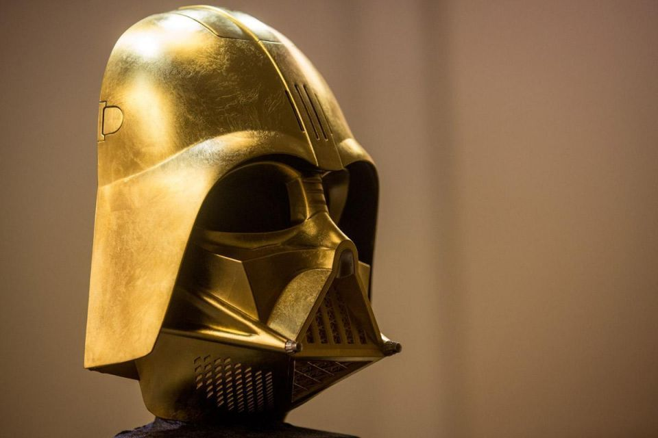 Darth Vader goes gold in Japan