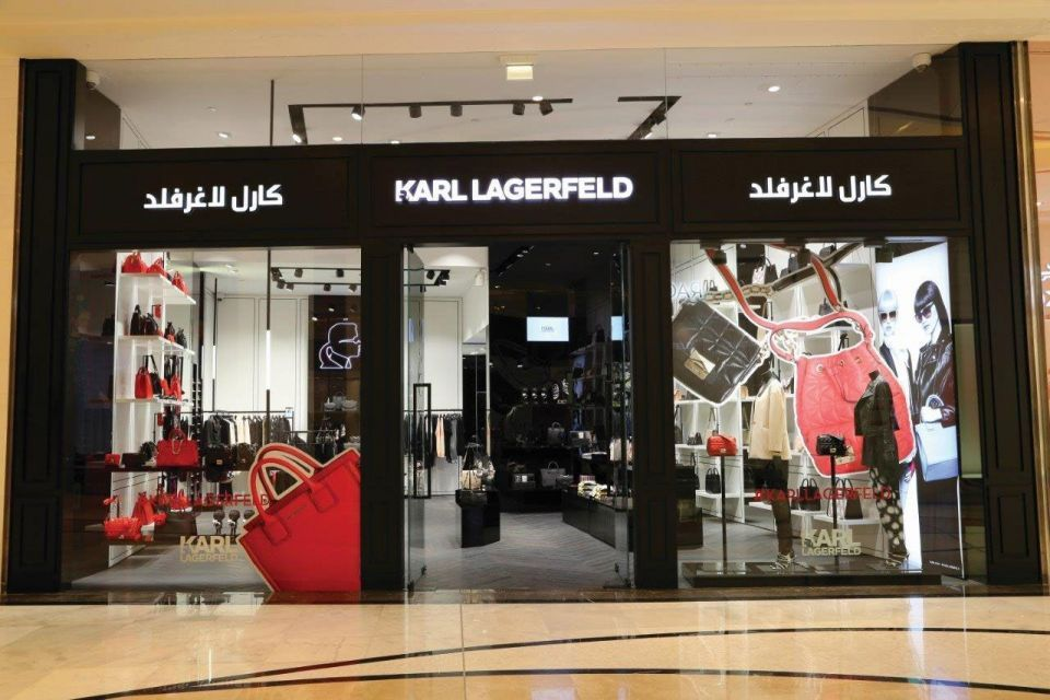 Karl Lagerfeld opens concept store in Kuwait City