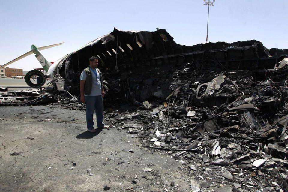 UN urges Saudi-led coalition to stop targeting Yemen airport