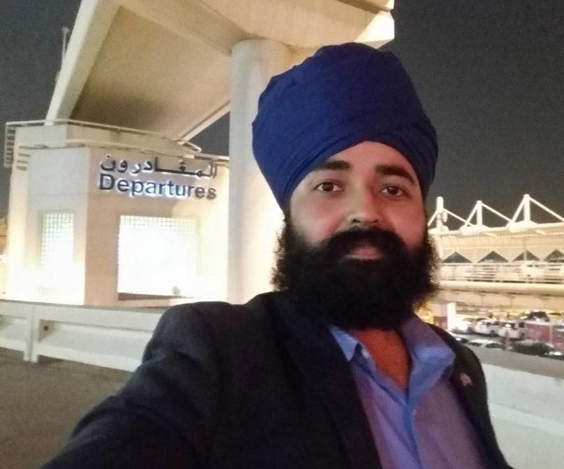 UK Tory candidate forced to remove turban in Dubai