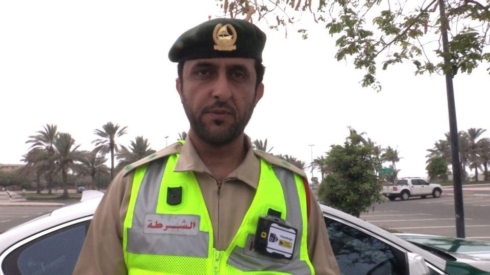 Dubai Police to be equipped with wearable cameras