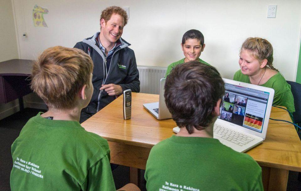 Prince Harry visits New Zealand