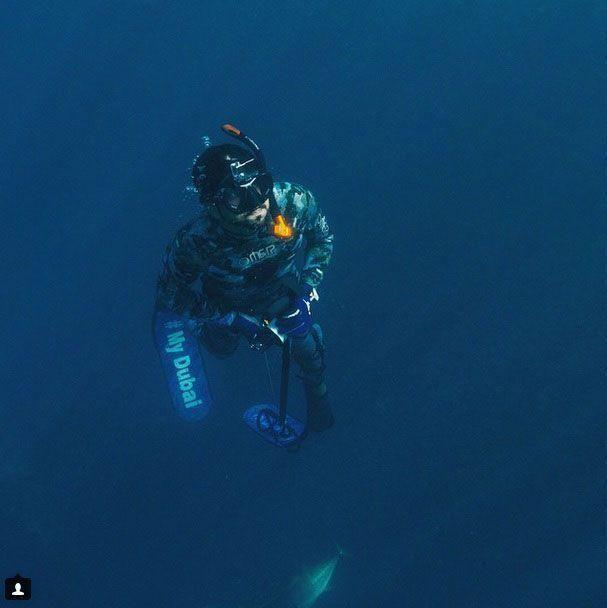 InPics: Dubai Crown Prince's water adventures