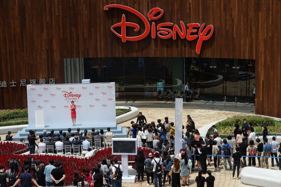 World's largest Disney flagship store opens in Shanghai