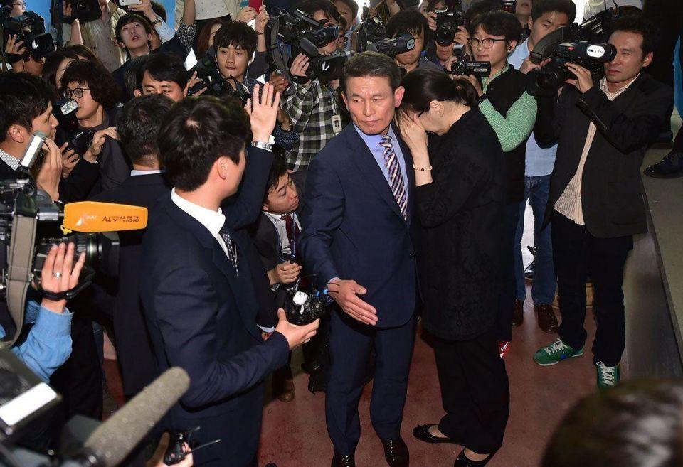Freedom for 'Nut rage' Korean Air heiress