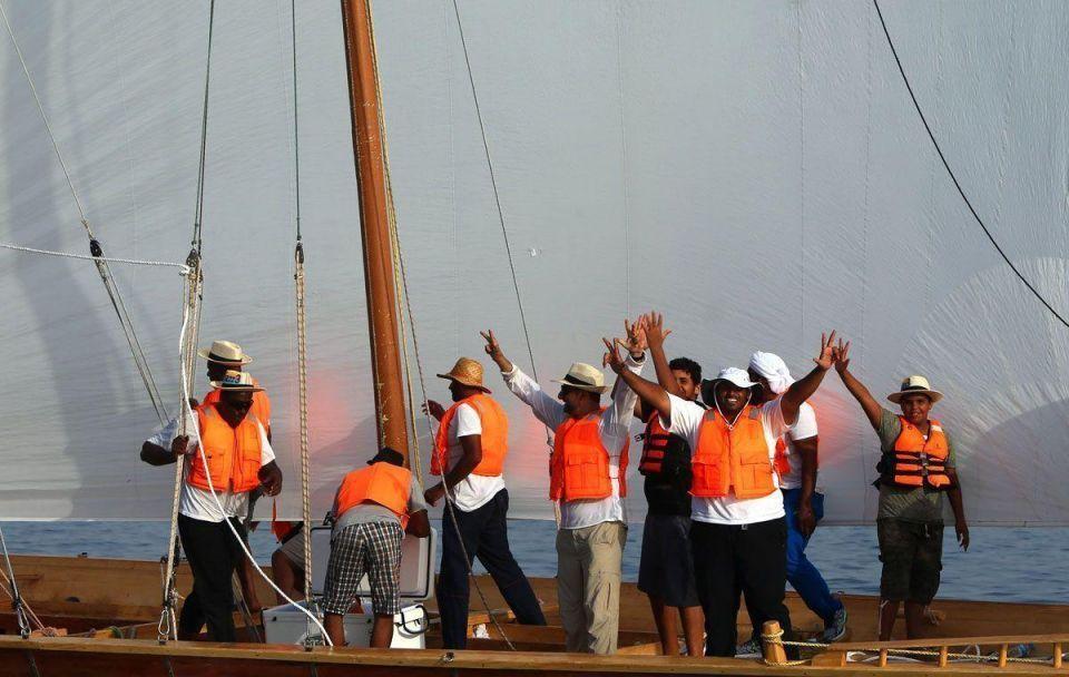 UAE: 23rd Al-Gaffal dhow sailing race