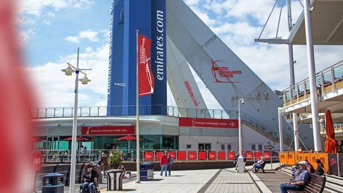 Portsmouth decide on blue for Emirates Spinnaker Tower
