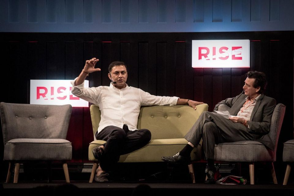 RISE tech conference in Hong Kong