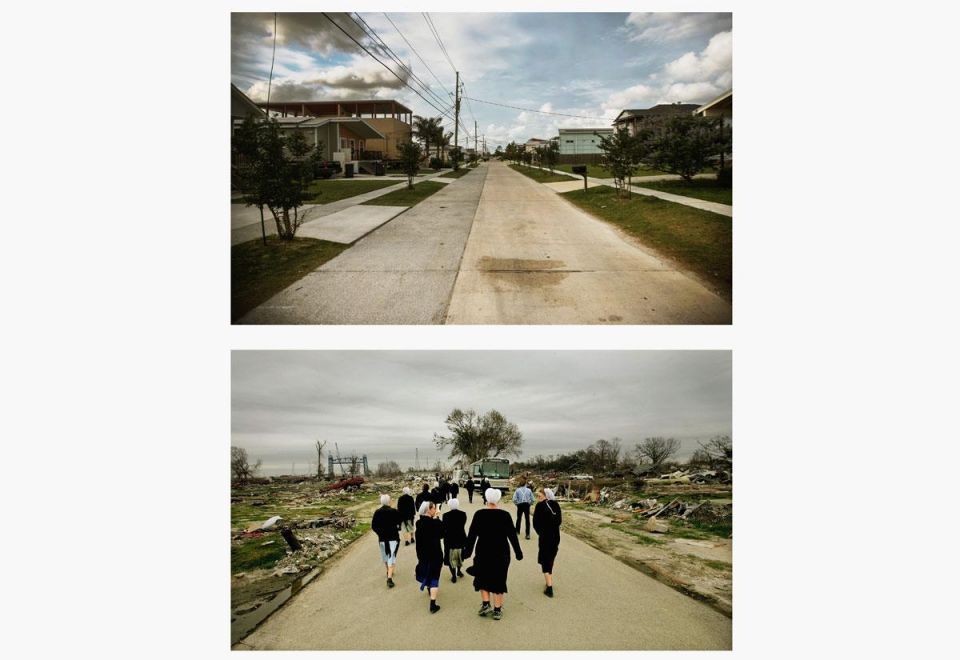 New Orleans after Katrina – Then and now
