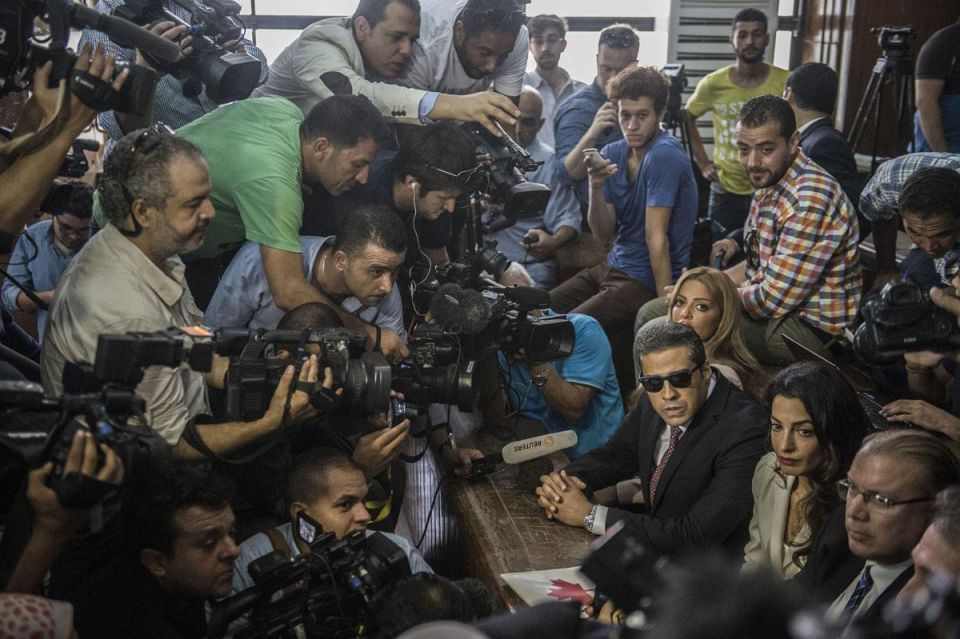 Focus: The Amal Clooney Cairo courtroom circus