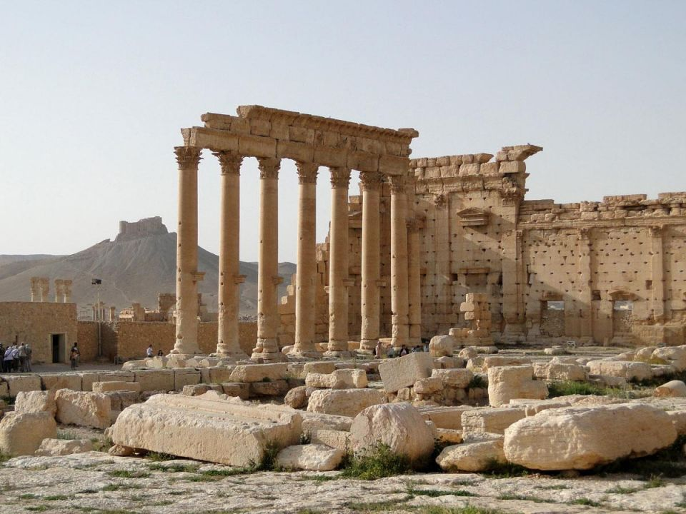 Satellite images confirm major temple destroyed in Syria's Palmyra - UN