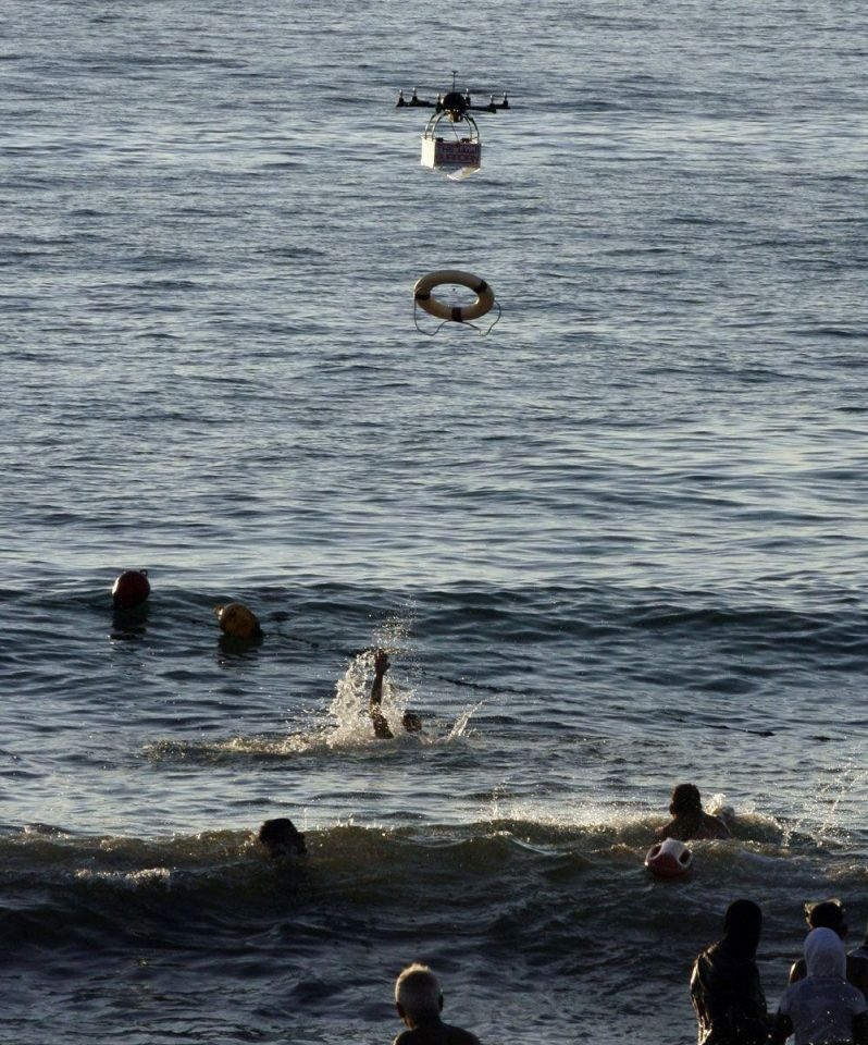 Lebanon: Drones to help swimmers in peril