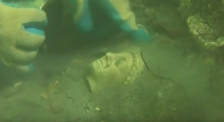 Underwater Egyptian city of mystery goes on show