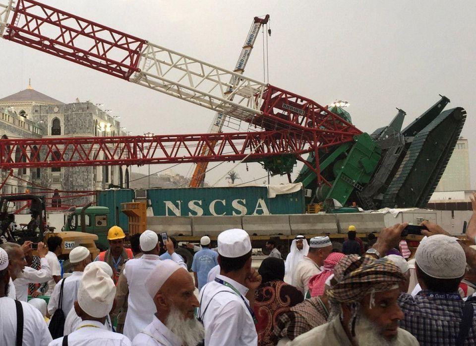 Saudi's United Cooperative Assurance says gets Makkah crane claim