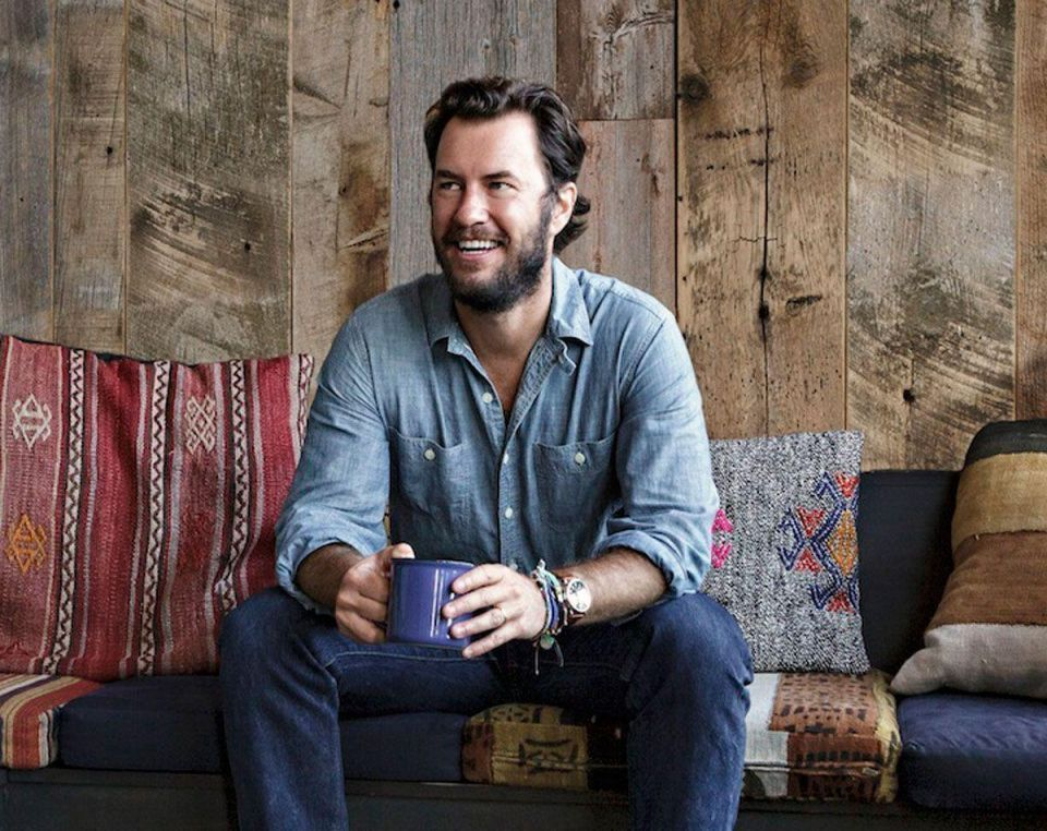 Sole man: TOMS founder Blake Mycoskie