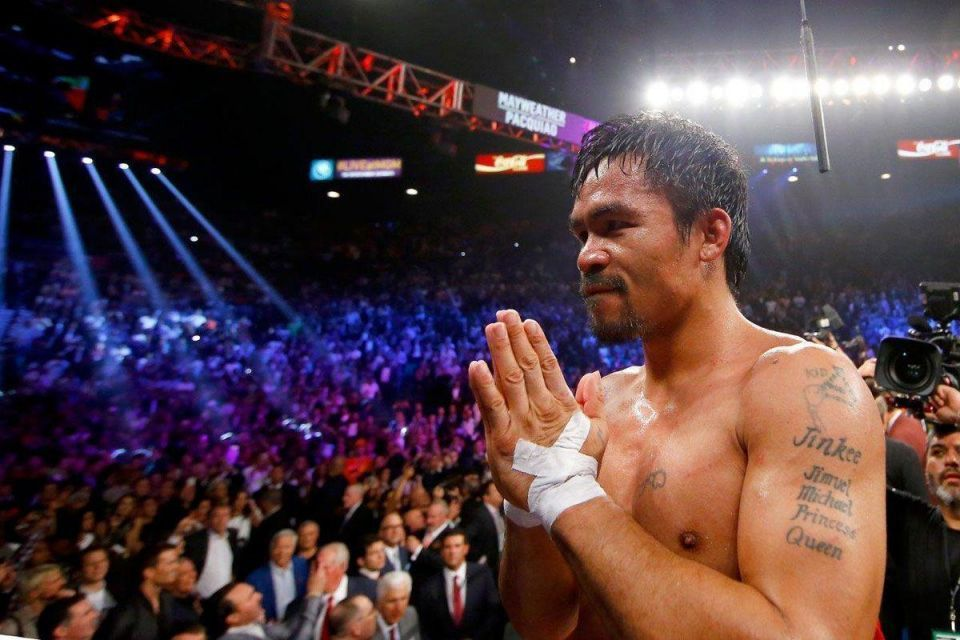 """""""I'm not done yet,"""" Pacquiao declares"""
