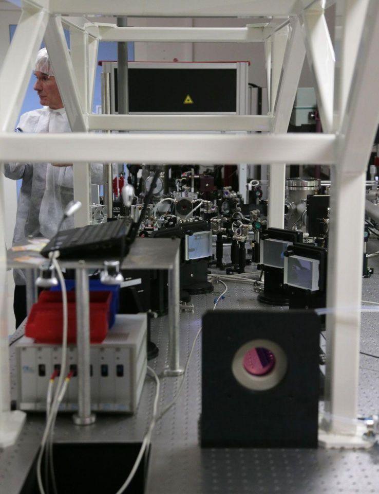 New Apollon laser unveiled in Paris