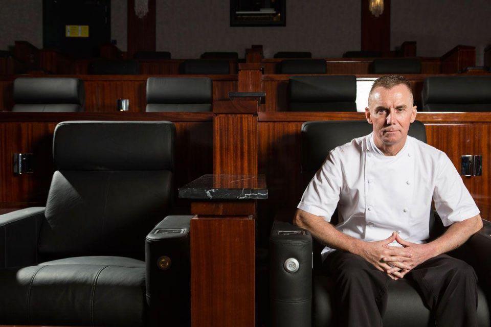 British chef Gary Rhodes unveils cinema food concept